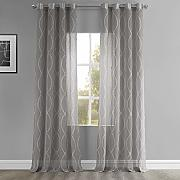 HPD Half Price Drapes SHCH-PS16071A-84-GR Vorhang
