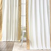 HPD Half Price Drapes Vertical Colorblock Panama