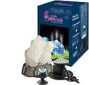 Hydor Aquarien-Dekoration Kit Kristall mit LED und