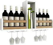IAIZI Wine shelf Wandbehang Kreative Holz