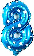 Inception Pro Infinite Ballon Zahl 8 - Ballon -