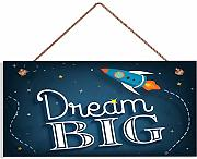 "INNAPER W9187 Kinder-Schild, Motiv: ""Dream Big"