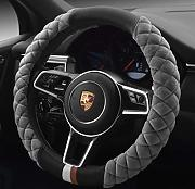 JAYE Universal Type Plush Velvet Steering Wheel