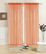 Kashi Home Elegante Rod Voile Vorhang Panel,