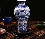 Kicode Untique Stunning Traditional Chinese Blue