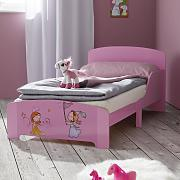 Kinderbett in Rosa 'Alisa'