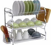 Kitchen rack Geschirr Hackbrett Lager Metallisches