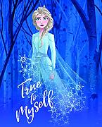 Komar Disney Wandbild Frozen 2 ELSA True to Myself