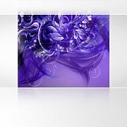 LanaKK - Emotion Curvature Blau Violett -