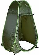 LANLAU Pop Up Zelt Outdoor Camping Wc Ankleiden