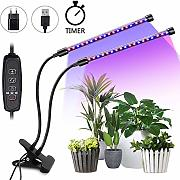 LED Pflanzenlampe 20W Grow Lampe mit Timing