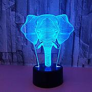 Led8N 3D Illusion Lampe LED Nachtlicht,7 Farben