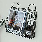Ledge Iron Rack Creative Wand-Bücherregal 35 * 10