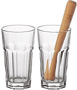 Leonardo Rocks Bar 073756 Glass Set 3 Items by