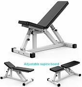 LFMXLD Verstellbarer Fitness-Hocker,