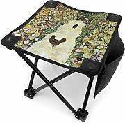 liang4268 Camping Hocker Garden with Roosters