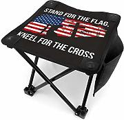 liang4268 Camping Hocker Stand for The Flag