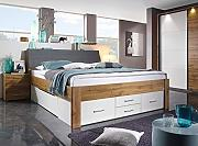 lifestyle4living Funktionsbett in Wotan