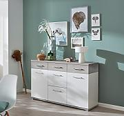 lifestyle4living Sideboard, Kommode, Schrank,