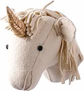 Linen Perch Einhorn-Filz-Wanddekoration |