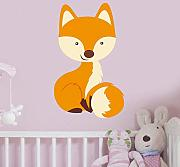 Lkfqjd Pretty Fox Home Decor Vinyl Wandaufkleber