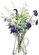 LSA International 26 cm Blume Krug Vase,