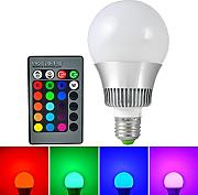MENGS® E27 10W RGB LED Farbwechsel Lampe mit