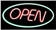 "Modernes LED Display Schild ""OPEN"" Reklame"
