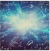 Mysterious Science Space Mathematik Physik Formeln