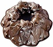 NordicWare Backform Herbstblätter-Bundt, Aluguss,