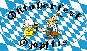 O´zapft is Oktoberfest - Bayern Dekoration Flagge