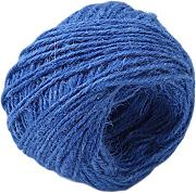 ODN 50m Jute Rope DIY Geschenkband Schmuck Accessoires 2mm Natural jute for Crafts Arts (Blau)