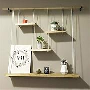 OIBHFO Home LOFT Wandbehang Cube Regal