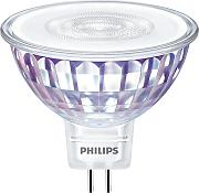 Philips LED Reflektorlampe MR16 klar GU5.3/7W(50W)