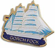 Pin Gorch Fock Maritime Dekoration