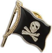 Pin Piratenflagge, Maritime Dekoration