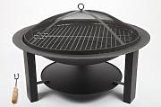 point-garden Feuerschale 73cm Gartengrill Grill