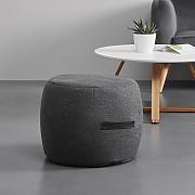 POUF in grau 'Ashley'