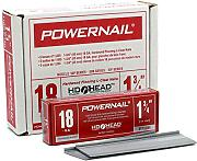 Powernail 18ga HD L Kleat Bodenbelag Nagel 1 Box