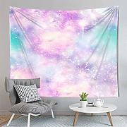 PPOU Galaxie psychedelische Tapisserie Wandbehang