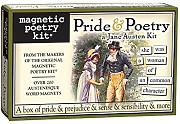 Pride and Poetry: A Jane Austen Kit- Fridge Magnet