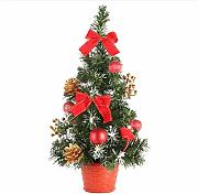 qnmbdgm Dekoration Weihnachten Mini Small Pine