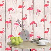 Rasch Barbara Becker Flamingo Wallpaper -