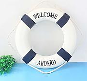 Rettungsring Welcome on Board - Maritime