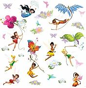 RoomMates Wandsticker Disney FAIRIES - FEEN mit