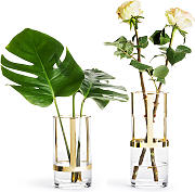 Sagaform Vase & Windlicht Hold, Gold