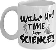 Science Time Kaffeetasse, Wissenschaft Design,