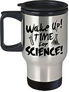 Science Time Travel Becher Science Design Chemie