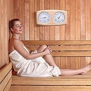 Seasons Shop Sauna Hygrometer Thermometer 2-in-1