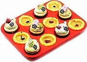 Silikon Muffin-Backform Set - Regular 12 Cups und